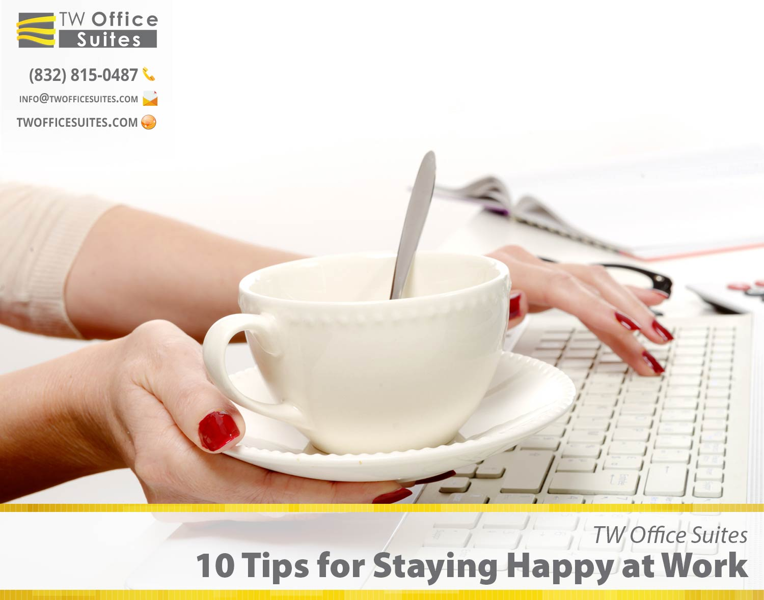 10 tips for staying happy at work